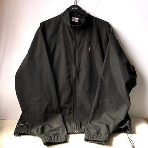 RUNNING ROOM black running jacket GUC